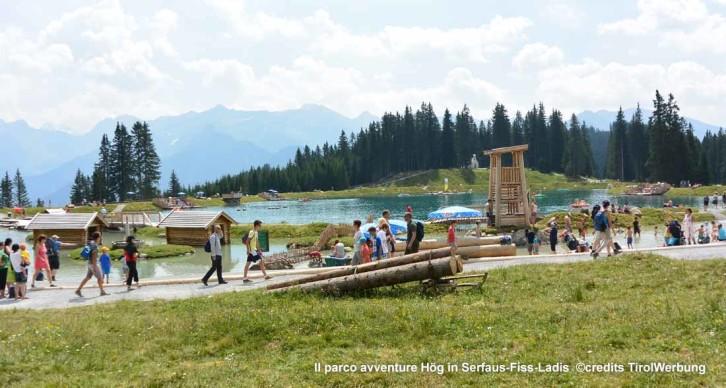 """I parchi gioco """"naturali"""" sulle montagne del Tirolo"""