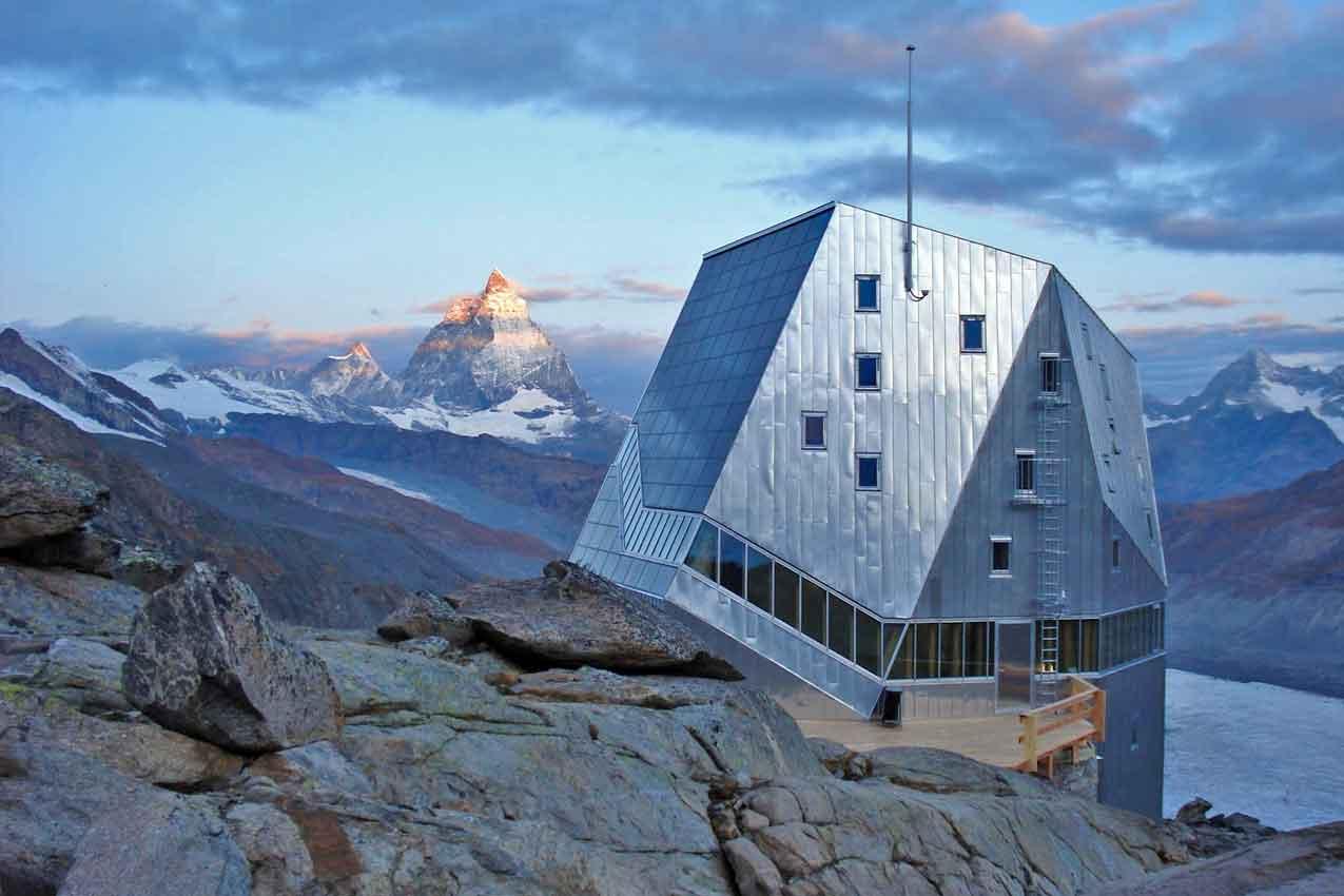 Rifugio Monte Rosa Hütte
